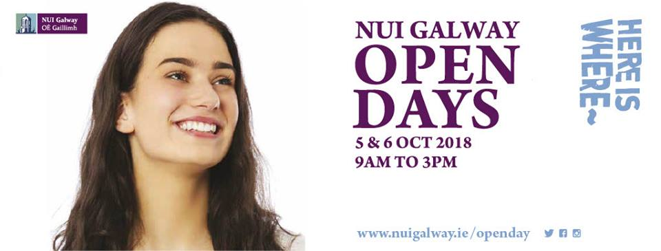NUIG Undergraduate Open Days