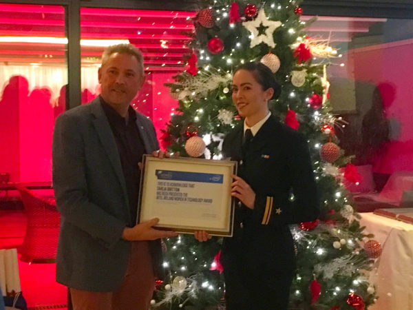 """NMCI Graduate Receives Intel """"Women in Technology"""" award for CIT"""
