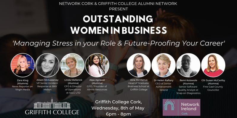 Network Cork & Griffith College: Outstanding Women in Business Event