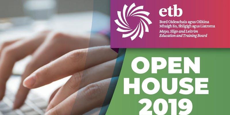Mayo, Sligo & Leitrim Education and Training Board Open House 2019