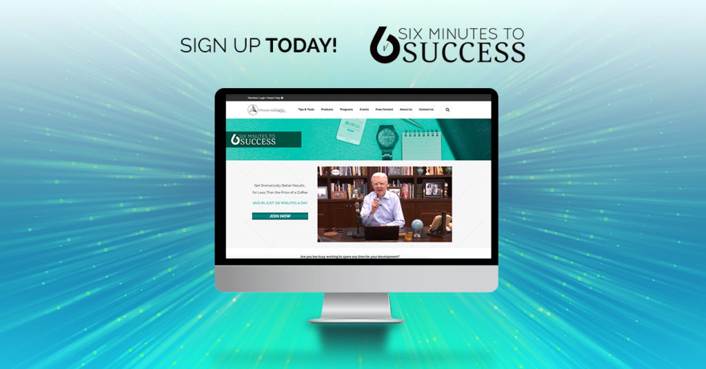 Six Minutes to Success Innovative Training Programme