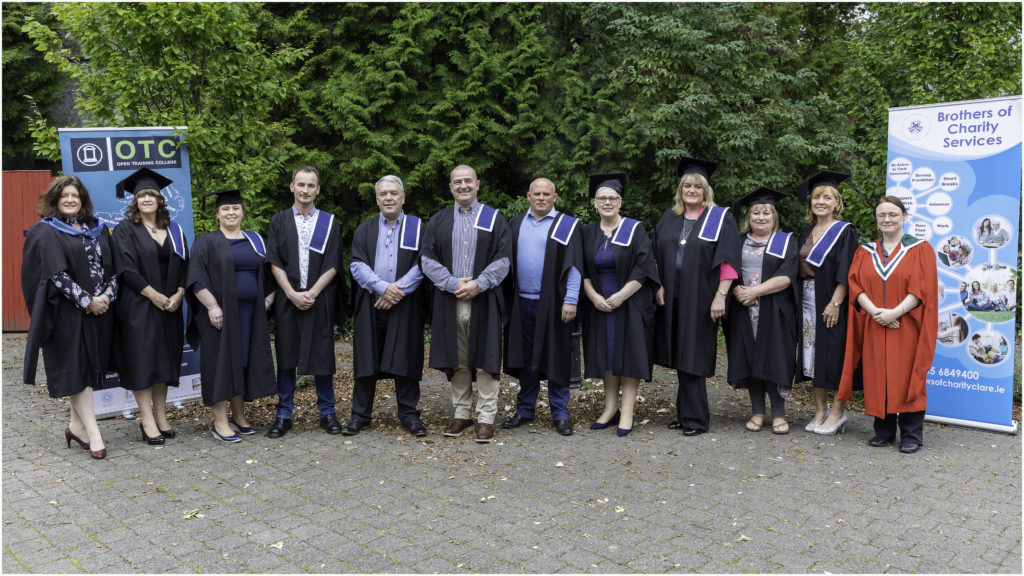 Brothers of Charity workers graduate with Open Training College Award