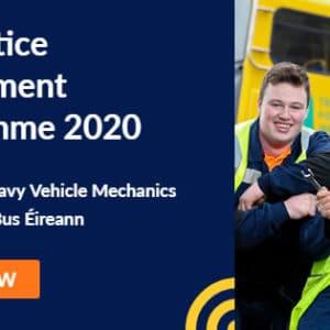 Apply Online for the Bus Éireann Apprentice Recruitment Programme 2020