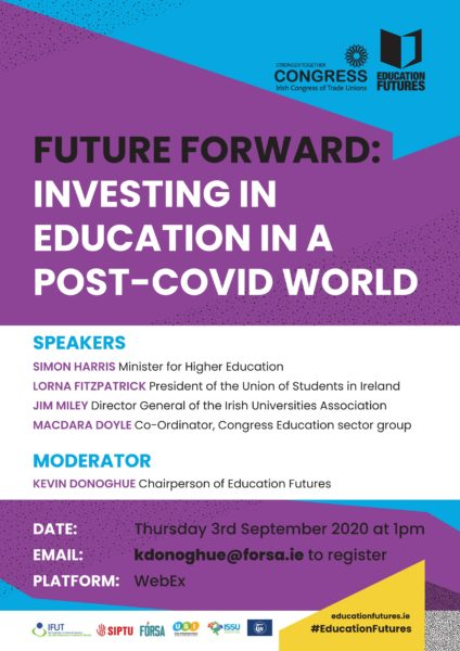 Webinar: Future Forward: Investing In Education In A Post-covid World